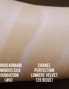 Estee lauder perfectionist youth infusing makeup swatch comparison also it   your skin but rh beautyholicsanonymous