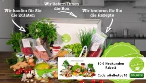 HelloFresh-Gutschein