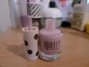 nail of day topshop waterlily