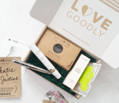 Lovegoodly - best subscription boxes - cruelty-free beauty box subscriptions - vegan beauty box - vegan subscription box - unboxing subscription box review | beautyiscrueltyfree.com