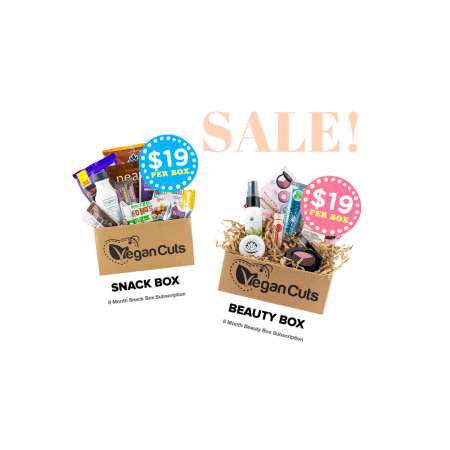 VEGAN CUTS BEAUTY BOX SALE