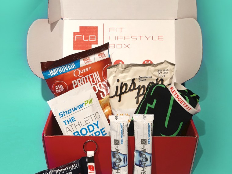 Fit lifestyle box fitness subscription box | beautyiscrueltyfree.com