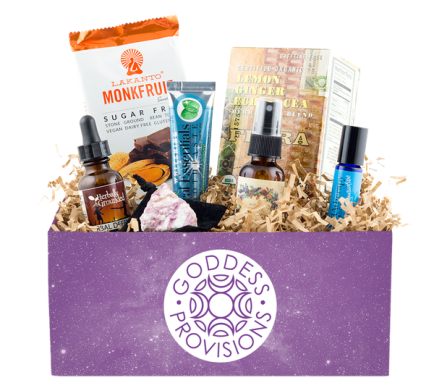 Goddess Provisions - best subscription boxes - cruelty-free beauty box subscriptions - vegan beauty box - vegan subscription box - unboxing subscription box review   beautyiscrueltyfree.com