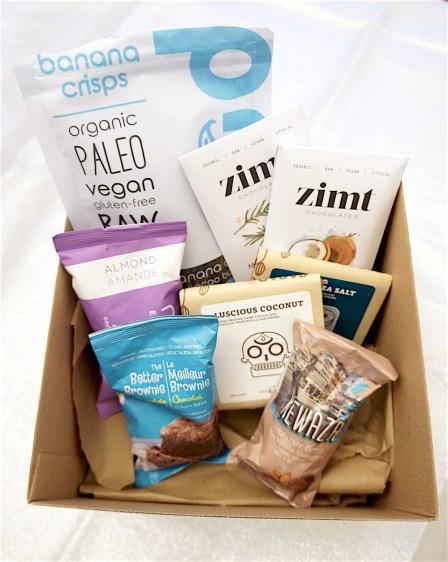 fair square vegan chocolate gift basket beautyiscrueltyfree.com