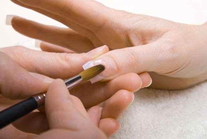 Image Led Do Acrylic Nails Step 7bullet1
