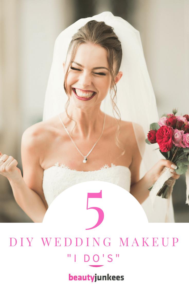 5 DIY Wedding Day Makeup I Dos