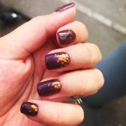 autumn-nail-design-burgundy-orange-glitter-moon