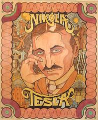 ο κος NIkola Tesla :-) (photo by Curious Expeditions)