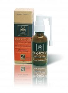 βιολογικό spray για το λαιμό_πρόπολη καιαλθέα