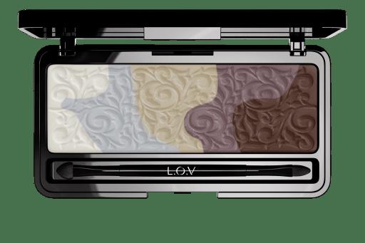 L.O.V. - Magnificent Sensual Eyeshadow Palette