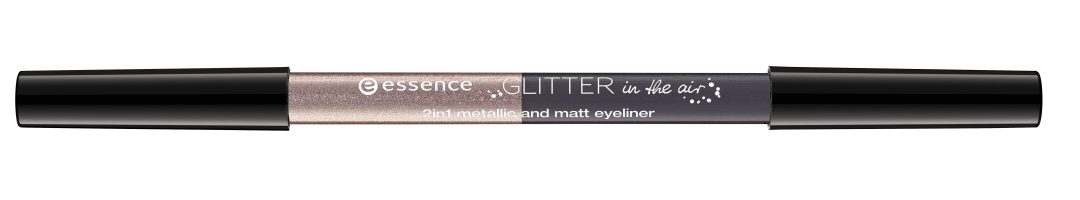 essence glitter in the air 2in1 metallic and matt eyeliner 01