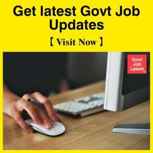 govt jobs latest