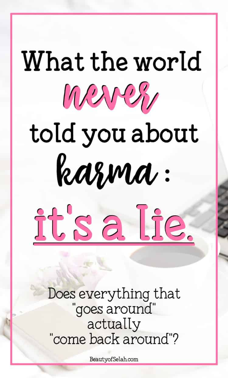 what the world never told you about karma