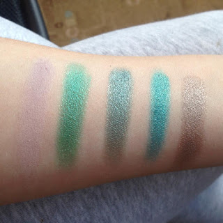 Urban Decay Vice4 swatch row 3