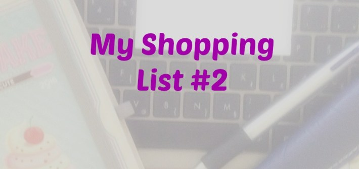 My Shopping List #2