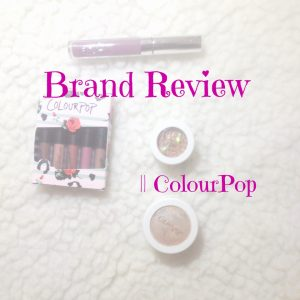 Brand review ColourPop