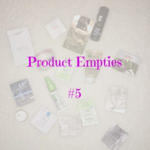 cover product empties