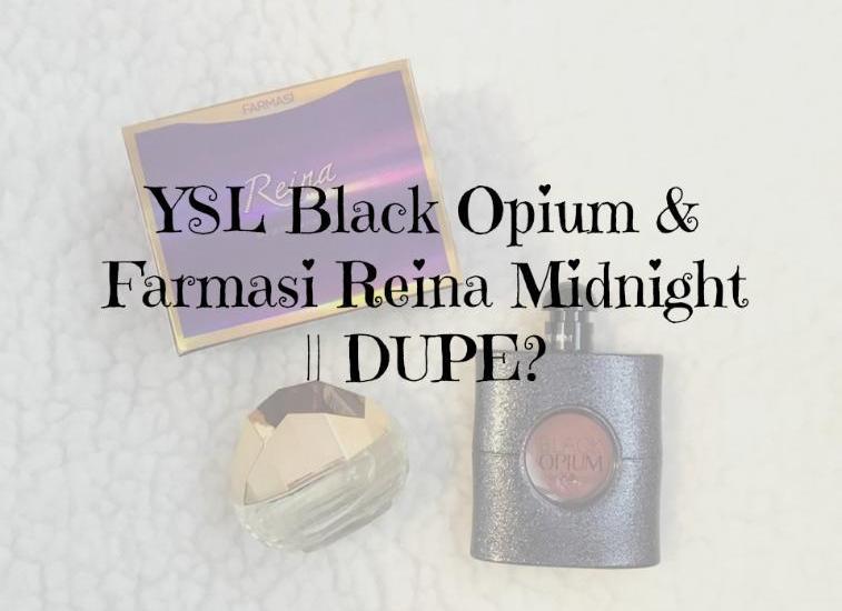 Black Opium Reina Midnight usporedba