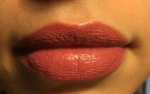 kryolan lipstick lip swatch