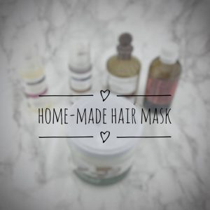 home-made hair mask
