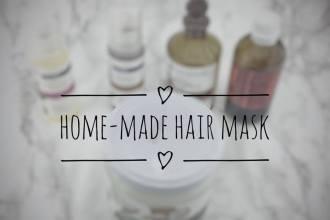home-made hair mask