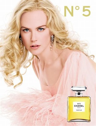 Nicole Endorses Chanel No. 5