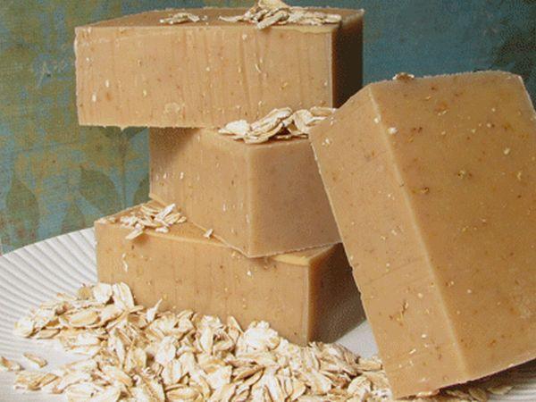 Oatmeal, Milk and Honey Goat Milk Soap