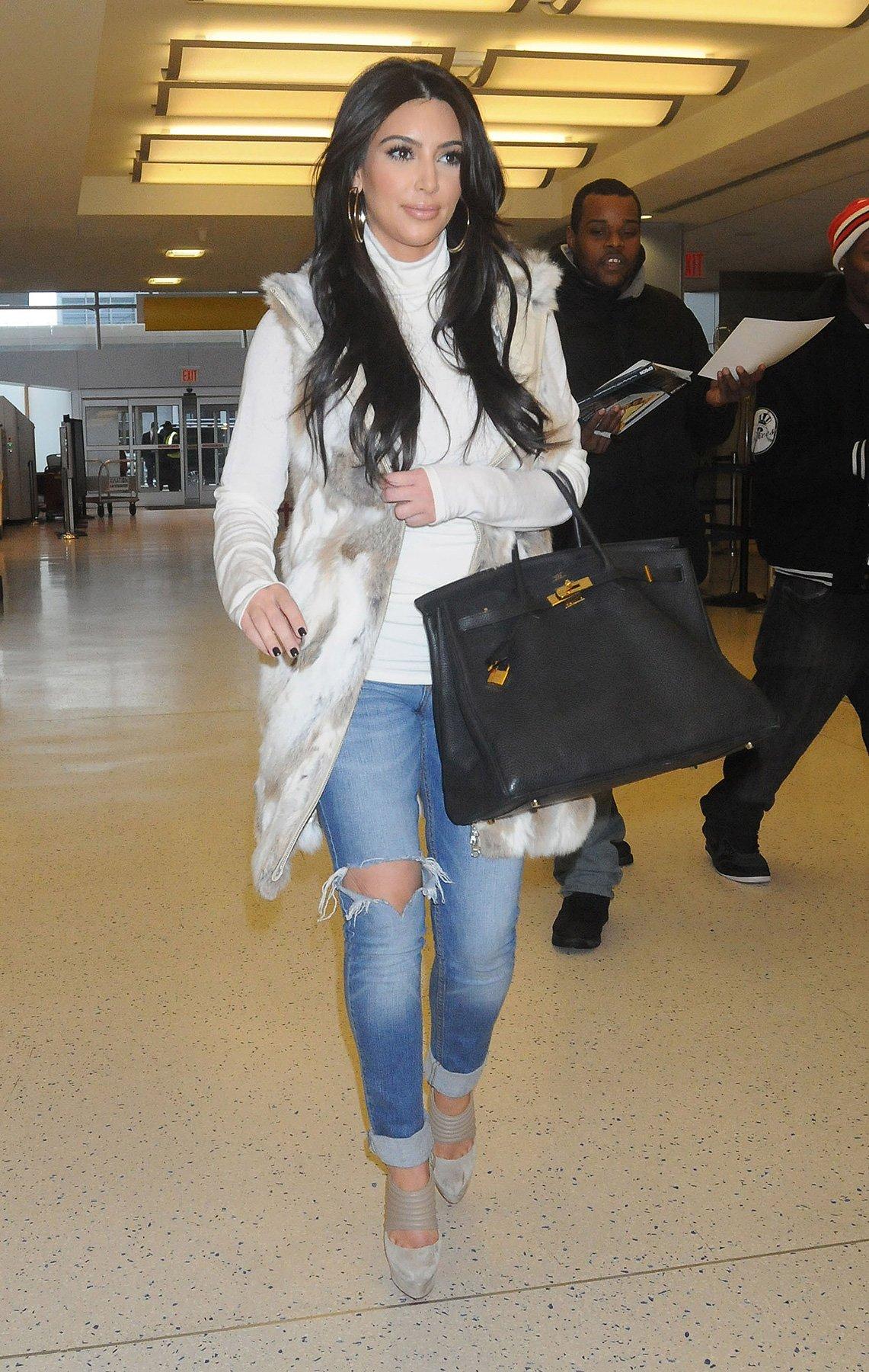 Kim Kardashian Winter Blues Beauty Ramp Beauty Fashion Guide By Dr Prem Skin Body