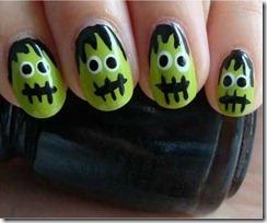 Halloween manicure 2