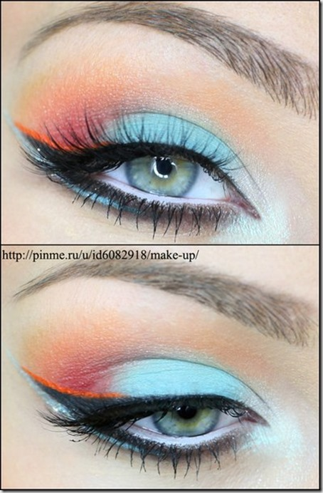 blue eyes makeup 874
