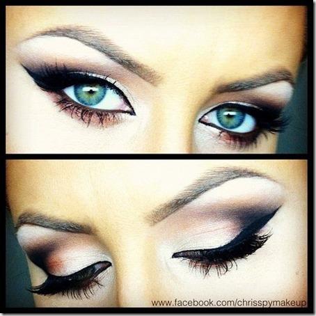 blue eyes makeup 887