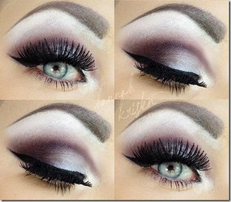 blue eyes makeup 904