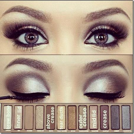 blue eyes makeup 909