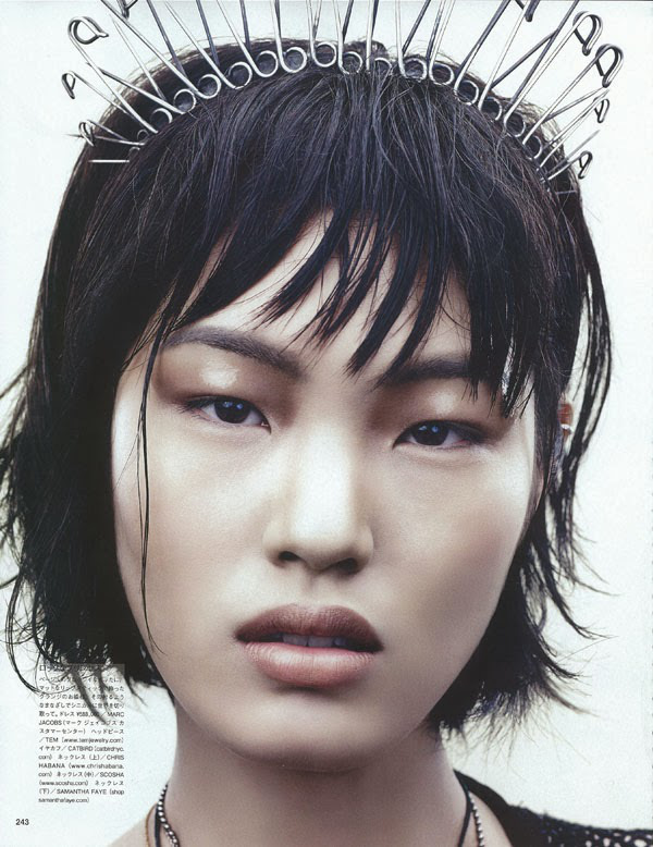 Chiharu av David Slijper för Vogue Japan November 2013 (2)