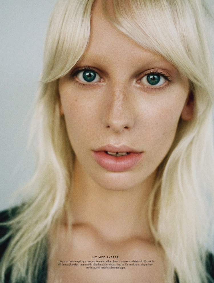 Lili Sumner For Styleby YSL Beauty Editorial