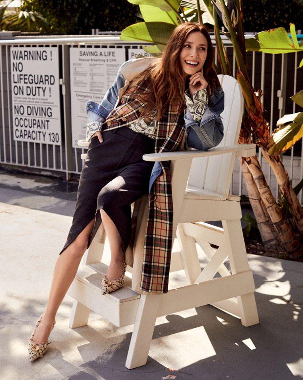 Elizabeth Olsen Stars In Vogue Korea April 2018 Issue