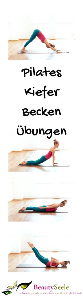 Pilates Kiefer und Becken Übungen