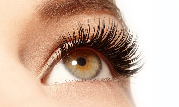 Eyelash extension buketter