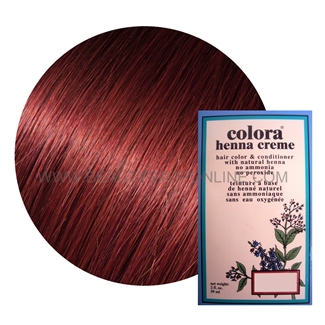 Colora Henna Creme Mahogany 2 Oz Beauty Stop Online