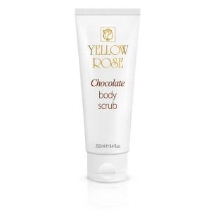 YELLOW ROSE <br /> Kūno šveitiklis su šokoladu – chocolate body scrub, 250ml