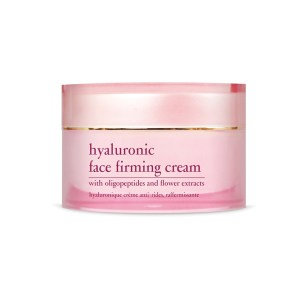 YELLOW ROSE <br /> Giliai drėkinantis veido kremas su hialuronu ir oligopeptidais – Hyaluronic face firming cream, 50ml