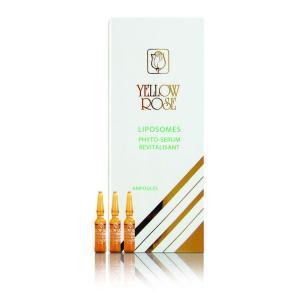 YELLOW ROSE <br /> Stipriai drėkinantis serumas ampulėse nuo raukšlių su liposomomis – Liposome Phyto – Serum Revitalisant, 3ml x 12