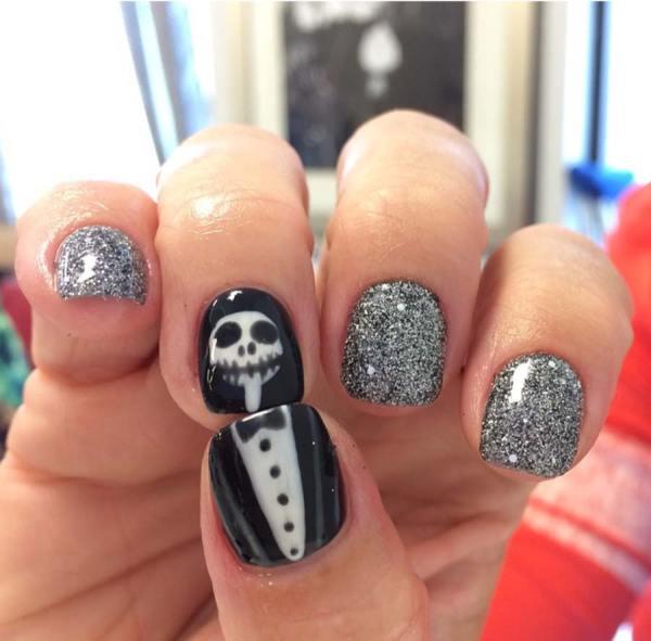 Halloween Nail Art Tante Idee Unghie Da Brivido