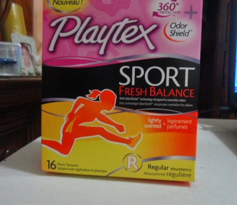 Playtex Sport tampon
