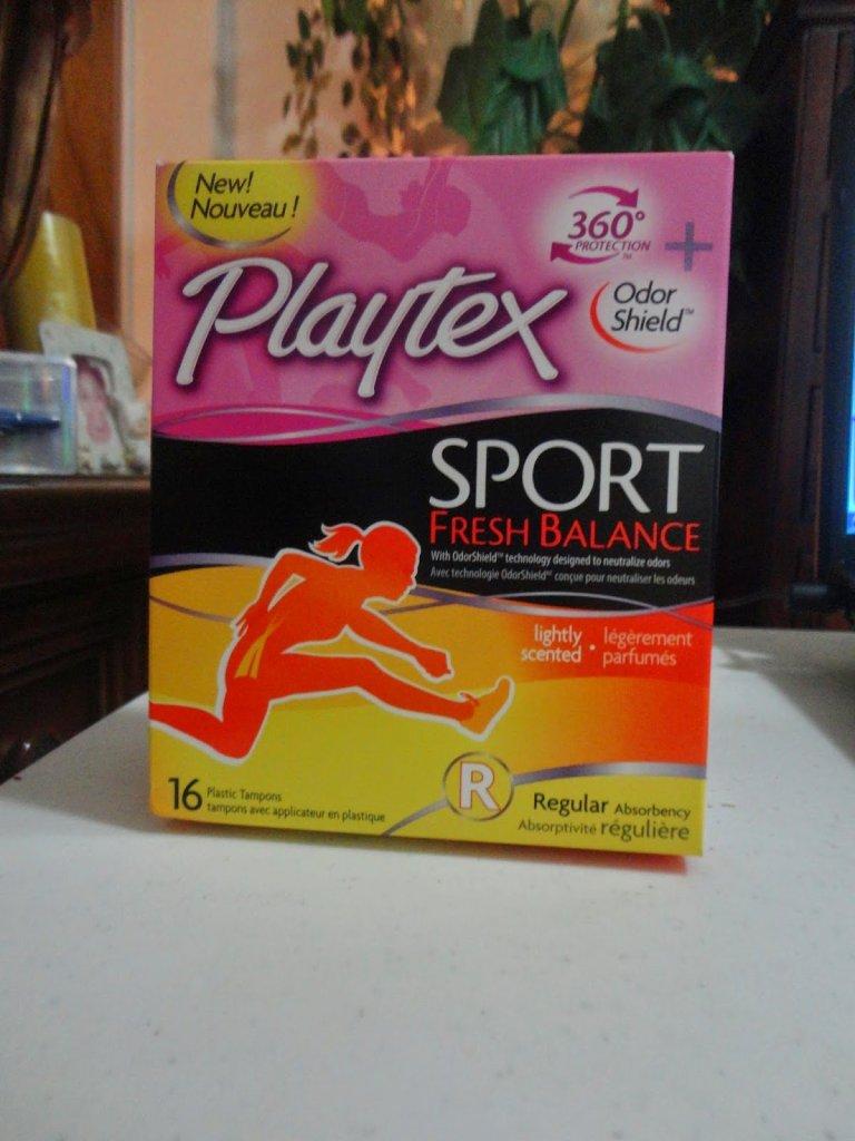 Playtex Sport Fresh Balance