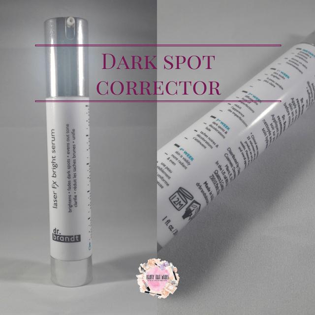 Dark Spot Corrector Dr. Brandt laser Fx bright serum Review