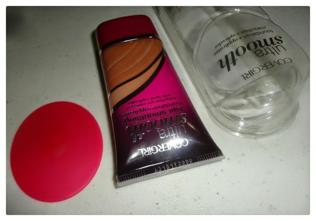 Covergirl ultra-smooth foundation+ application