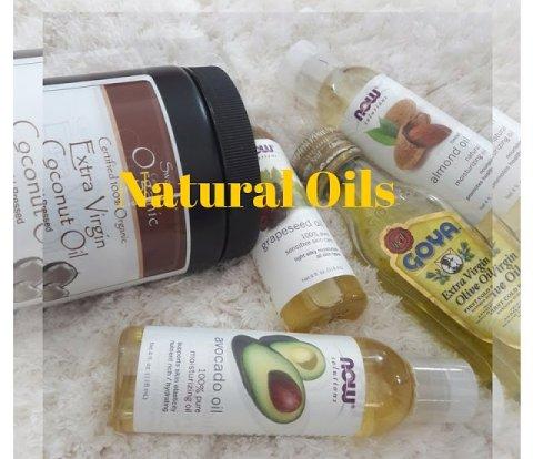 Natural oils ǀ Hair loss ǀ Hair growth