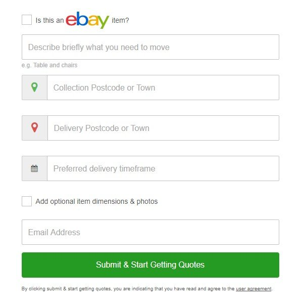 ebay, delivery, furniture delivery, quotes, transport, courier