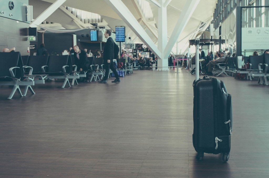 luggage, airport